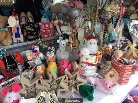 Photo of items from the Artisan and Craft market