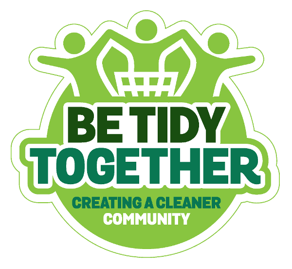 Be Tidy Together logo