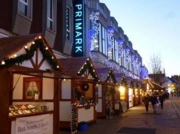 Picture of Christmas market chalets