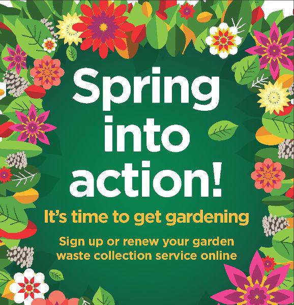 Garden waste sign up