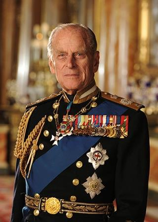 A photo of His Royal Highness The Prince Philip, Duke of Edinburgh