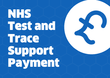 NHS Test and Trace support payment image