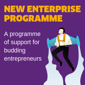 New enterprise programme homepage ad