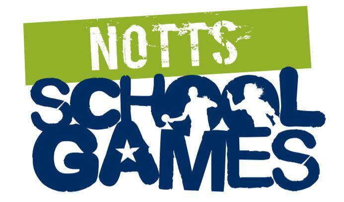 Notts school games logo