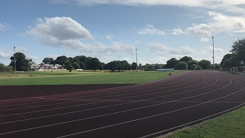 Berry Hill Park athletics track