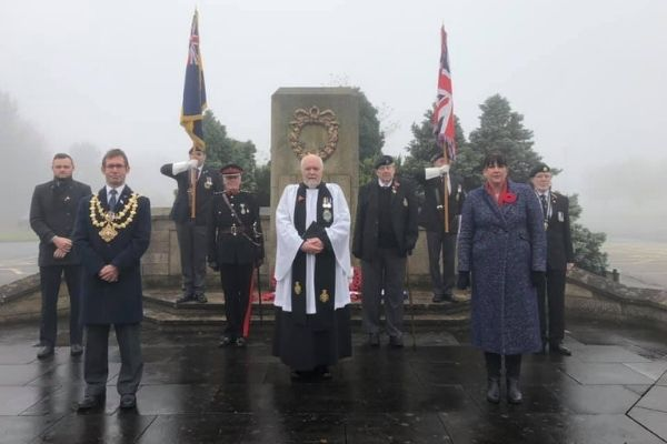 A photo of Mansfield Remembrance Service